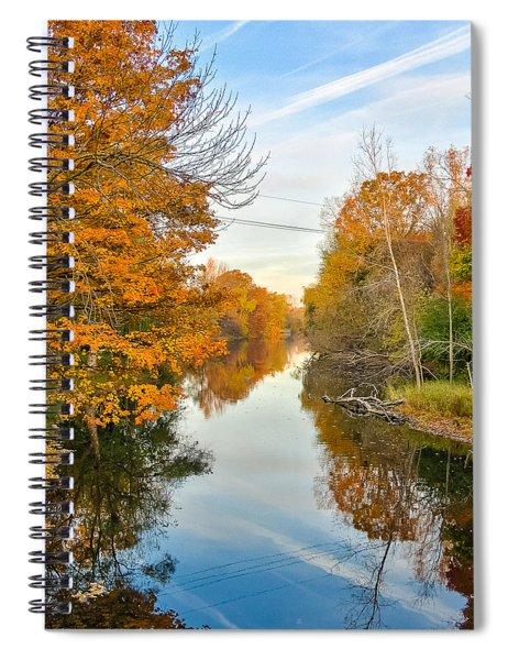 Fall On The Red Cedar  Spiral Notebook