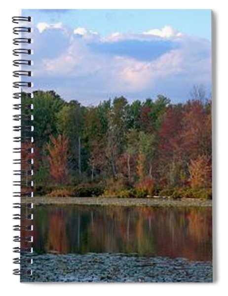 Fall Reflection Spiral Notebook