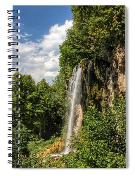 Falling Springs Falls Spiral Notebook