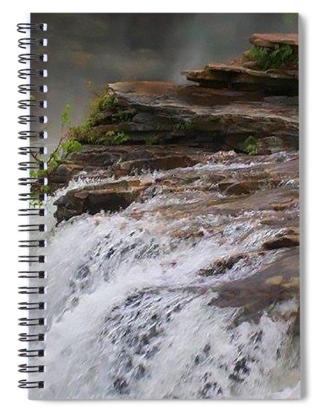 Falls Of Alabama Spiral Notebook