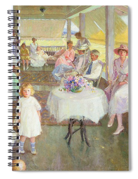 Family Gathering, 1919 Spiral Notebook