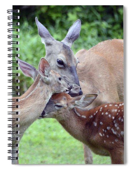 Family Hug Spiral Notebook