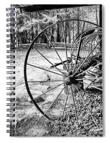 Farm Equipment Spiral Notebook