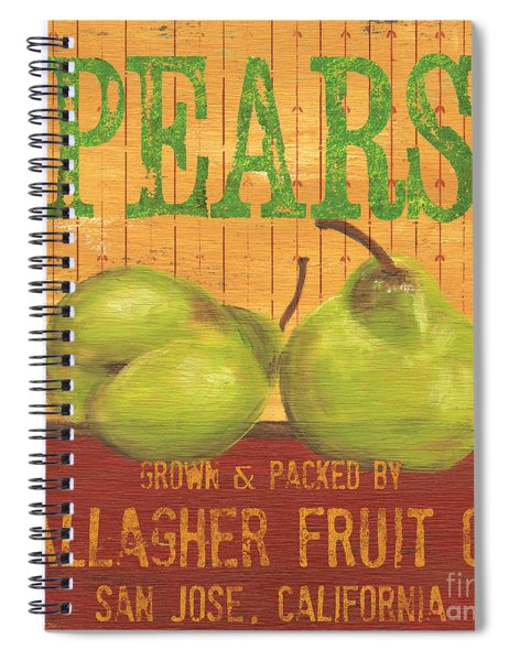 Farm Fresh Fruit 1 Spiral Notebook
