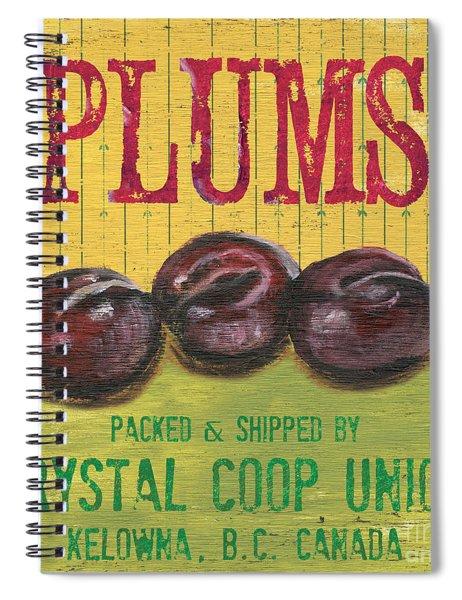 Farm Fresh Fruit 4 Spiral Notebook