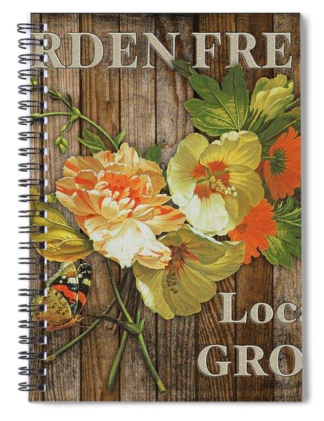 Farm Fresh-jp2129 Spiral Notebook