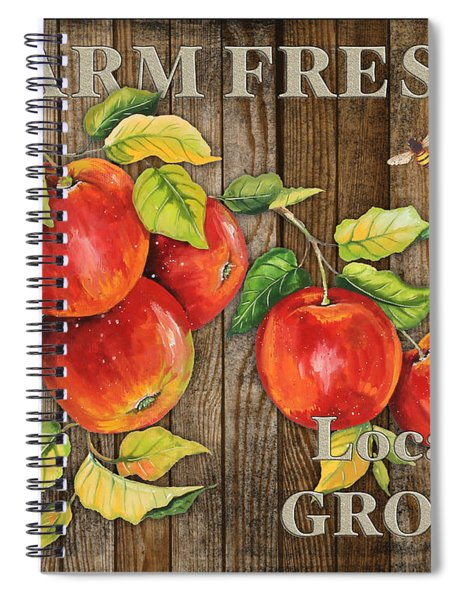 Farm Fresh-jp2130 Spiral Notebook