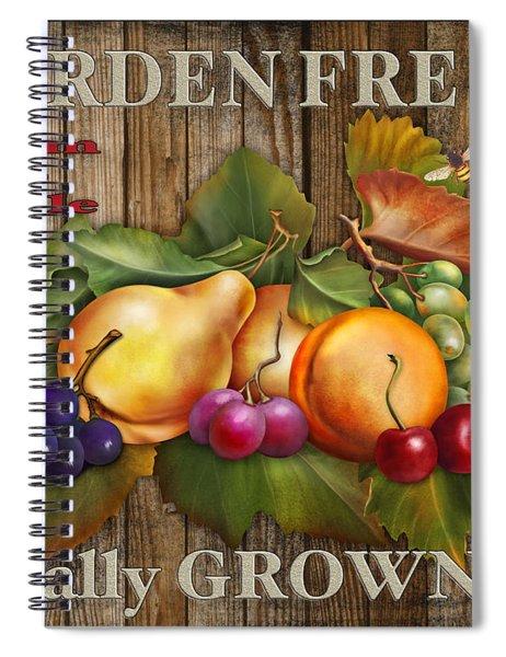 Farm Fresh-jp2133 Spiral Notebook