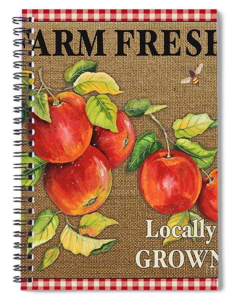Farm Fresh-jp2380 Spiral Notebook