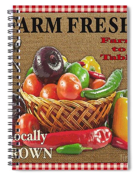 Farm Fresh-jp2385 Spiral Notebook