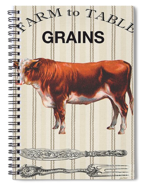 Farm To Table-jp2113 Spiral Notebook