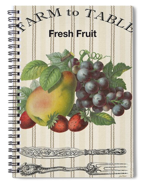 Farm To Table-jp2117 Spiral Notebook