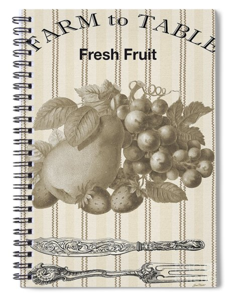 Farm To Table-jp2118 Spiral Notebook