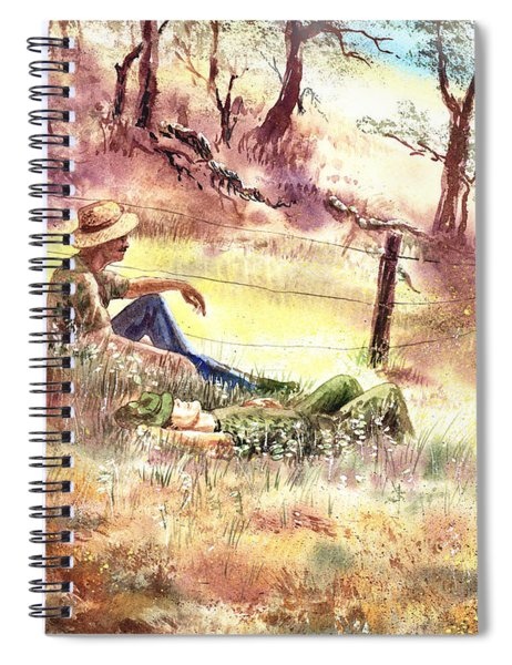 Farmers And Hunters Heaven Spiral Notebook