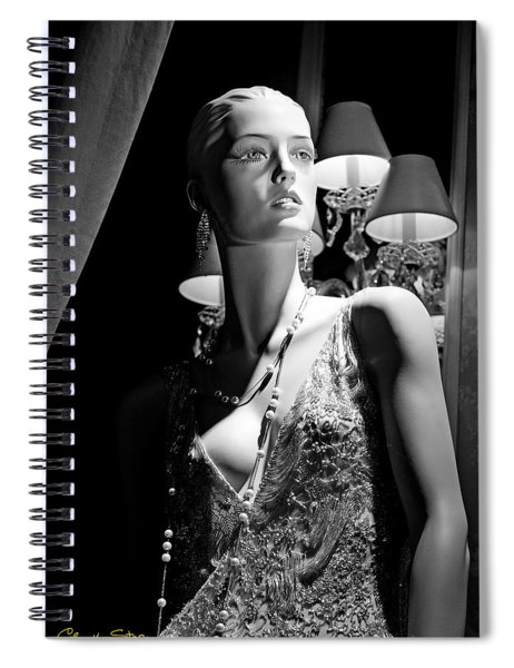 Fashionable Lady Spiral Notebook