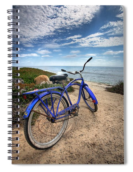 Fat Tire Spiral Notebook