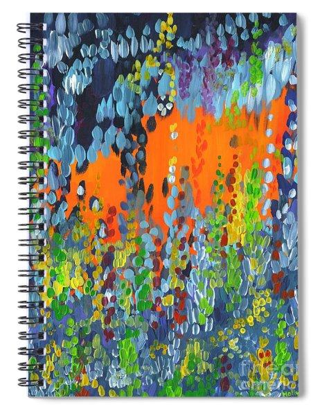 Faux Geo Spiral Notebook
