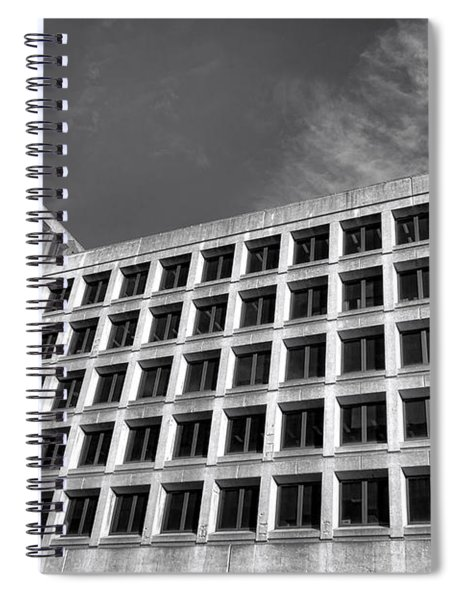 Fbi Building Side View Spiral Notebook