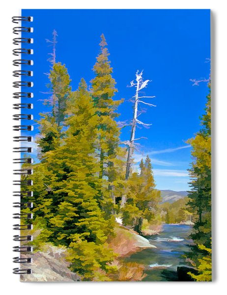 Feather River Spiral Notebook