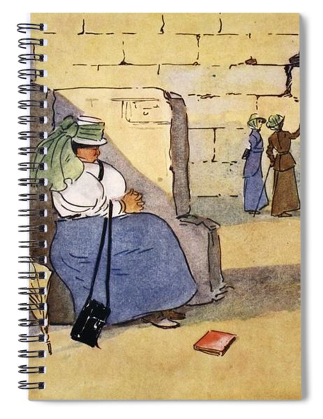 Fed Up!, From The Light Side Of Egypt Spiral Notebook