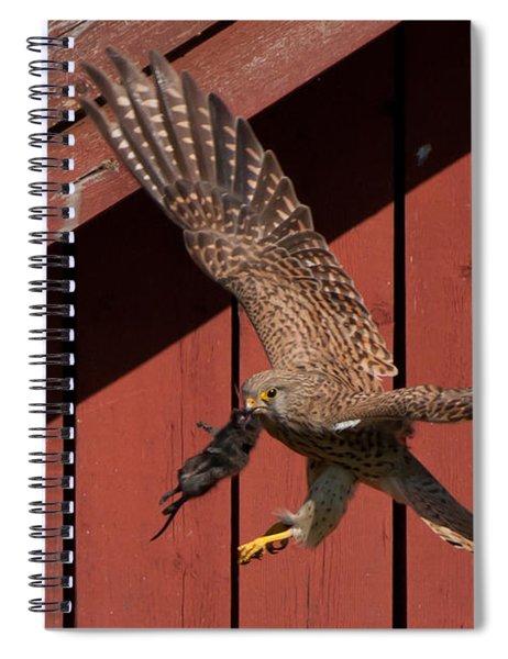 Feeding Time Spiral Notebook