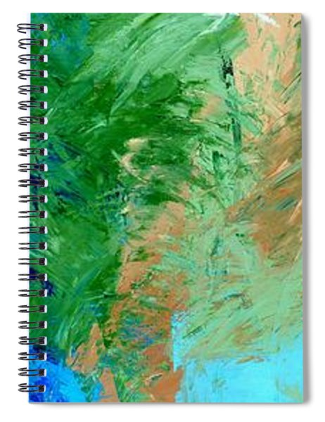 Feel The Tropical Breeze Spiral Notebook