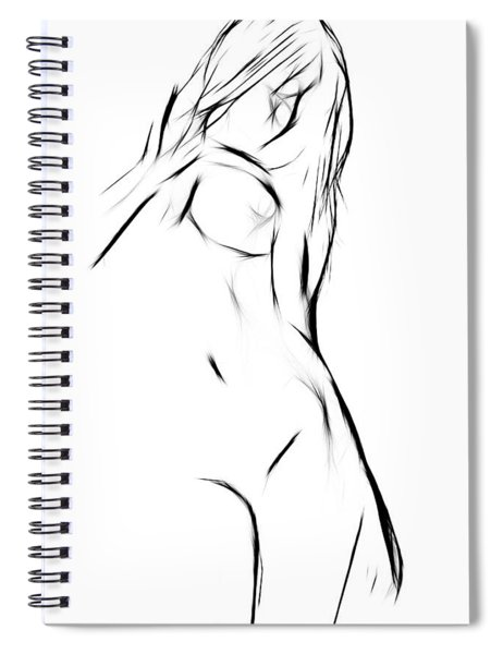 Female Spiral Notebook