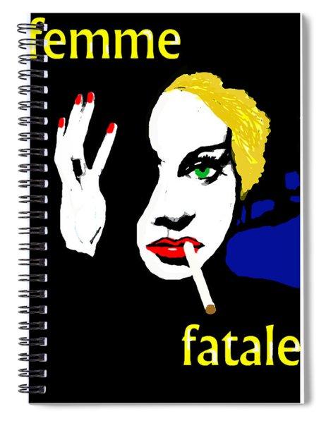 Femme Fatale Spiral Notebook