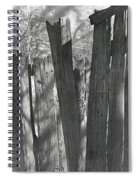 Fence Installation  Spiral Notebook