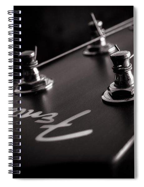 Fender Acoustic I Spiral Notebook