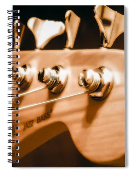 Fender Jazz Spiral Notebook