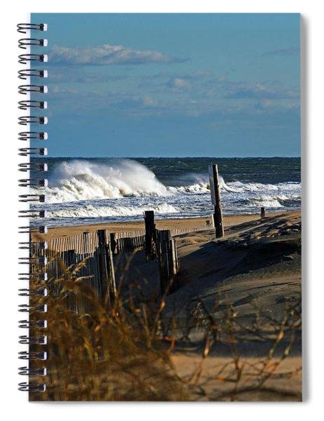 Fenwick Dunes And Waves Spiral Notebook