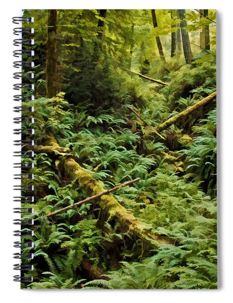 Fern Hollow Spiral Notebook