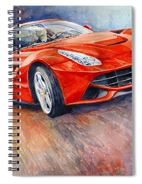 2014 Ferrari F12 Berlinetta  Spiral Notebook