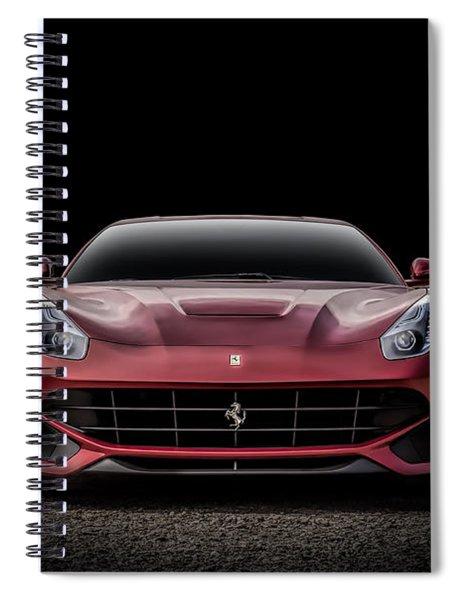 Ferrari F12 Spiral Notebook