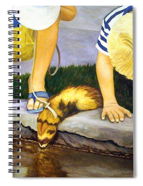 Ferret And Friends Spiral Notebook