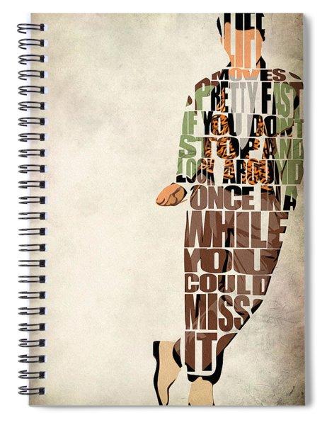 Ferris Bueller's Day Off Spiral Notebook