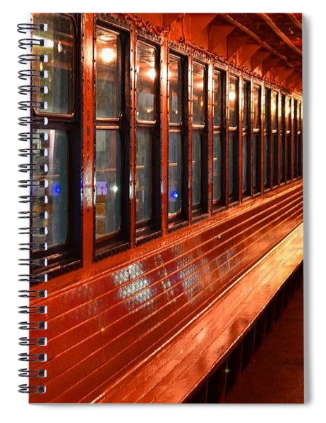 Ferry Boat Riders Spiral Notebook
