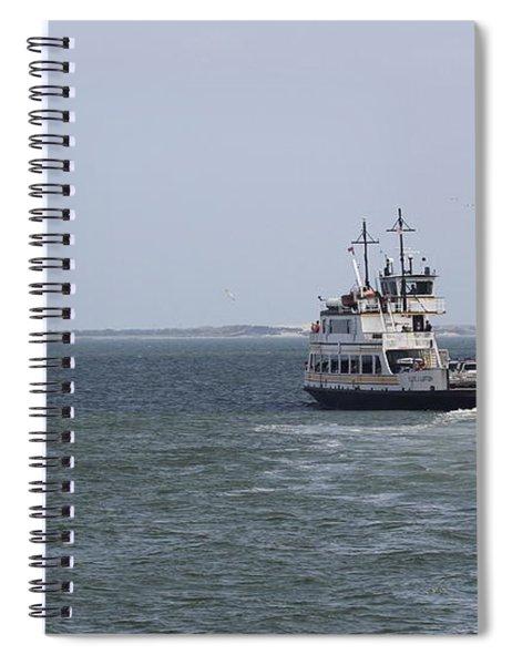 Ferry To Ocracoke 2 Spiral Notebook