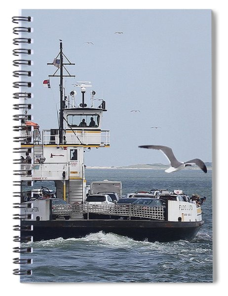 Ferry To Ocracoke 4 Spiral Notebook