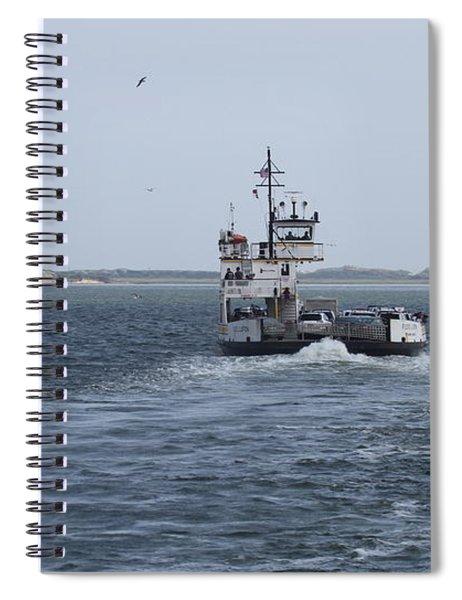Ferry To Ocracoke 5 Spiral Notebook