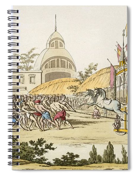 Festival Of The Dedication Spiral Notebook