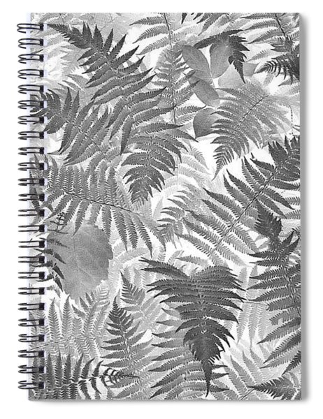 Fiddlehead Ferns Spiral Notebook