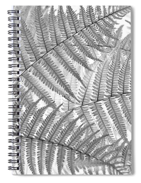Fiddleheads Spiral Notebook