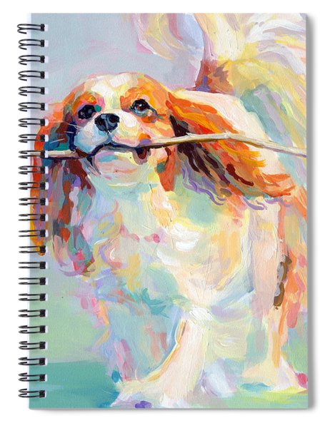 Fiddlesticks Spiral Notebook