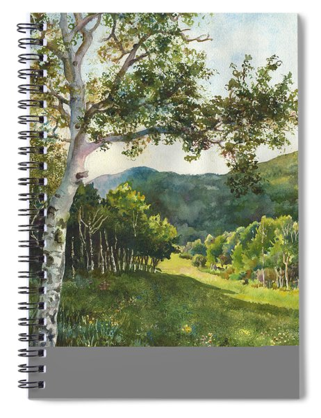 Field Of Light At Caribou Ranch Spiral Notebook