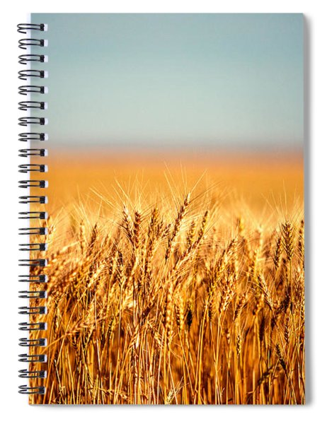 Field Of Wheat Spiral Notebook