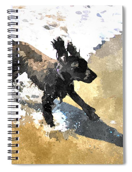 Field Spaniel Joy Spiral Notebook