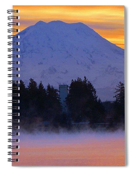 Fiery Dawn Spiral Notebook