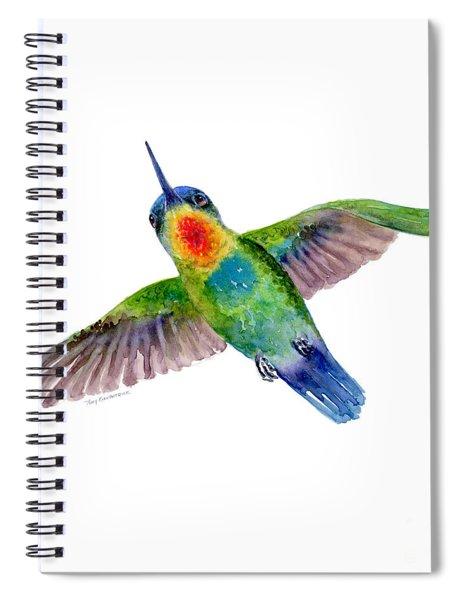 Fiery-throated Hummingbird Spiral Notebook